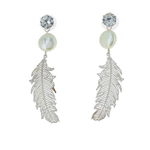 women dangle earring, PAMELA