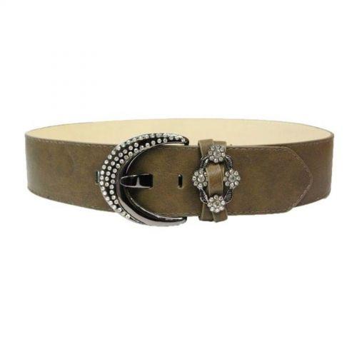 Wide Leatherette belt, ISHILD