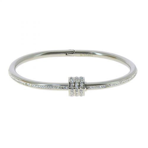 Zirconium crystal Stainless steel bracelet, BELINE