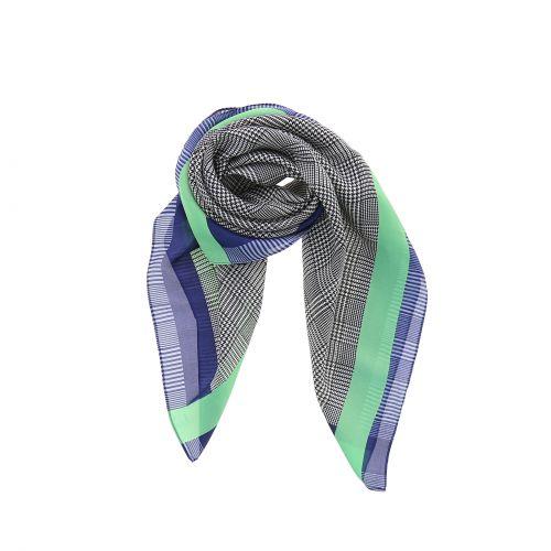 Foulard pour Femme 70 x 70 cm en Polyester haute qualité, sensation Soie, KETTY
