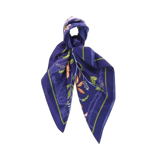 Scarf for Women 70 x 70 cm Polyester,High Quality, Silk Feeling, BASMA