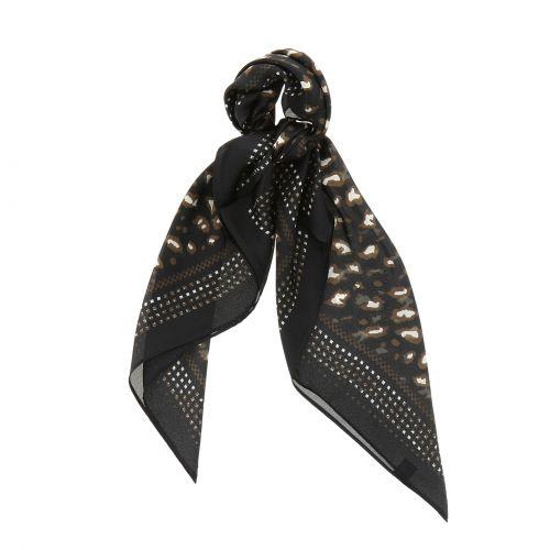 Schal für Frauen 70 x 70 cm Polyester, Hohe Qualität, Seidensensation, SILVA
