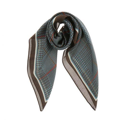 Foulard pour Femme 70 x 70 cm en Polyester haute qualité, sensation Soie, AOIFE