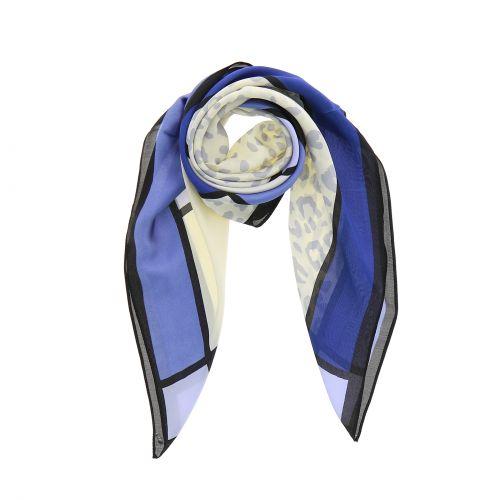 Foulard pour Femme 70 x 70 cm en Polyester haute qualité, sensation Soie, MILY