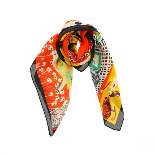 Scarf for Women 70 x 70 cm Polyester,High Quality, Silk Feeling, NAIRA
