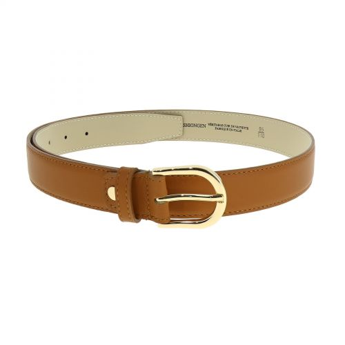 Premium Durable Genuine Italian-Made Leather BELT for Women, FLORDELIS