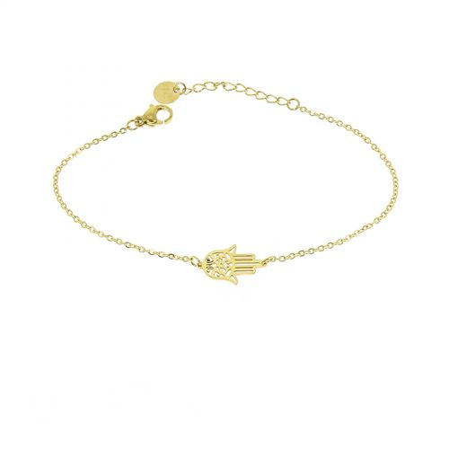 Woman stainless steel bracelet, IVANA