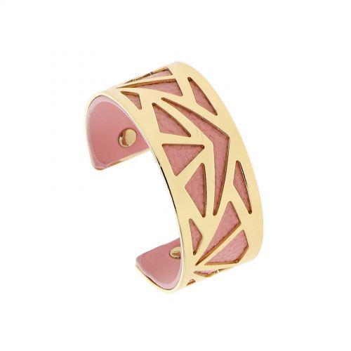 Bracelet femme manchette métal LAURA