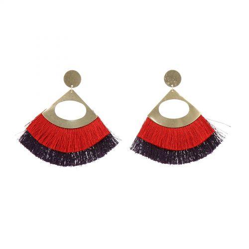 Tassel hanging dangle earring, IMANE
