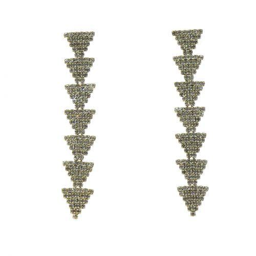 Boucles d'oreilles de zirconium