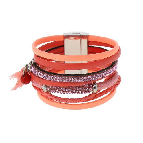 Bracelet manchette strass ESSRA