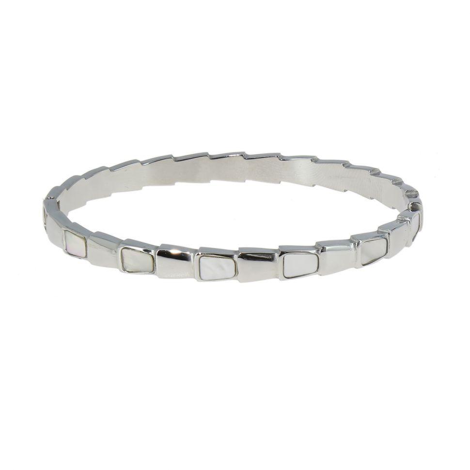 Zirconium crystal Stainless steel bracelet, MELISSA