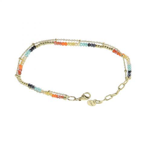 Bracelet pour femme à strass ajustable FAUSTINE