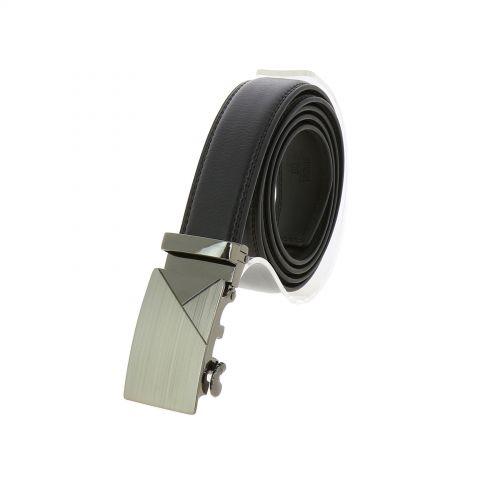 Leather Automatic Buckle Belt ANIMA