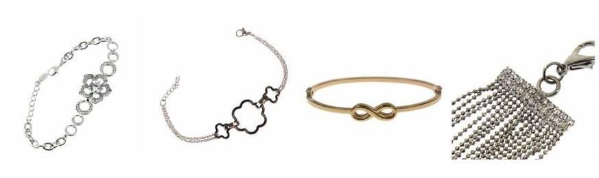 Bracelets doré à l'or